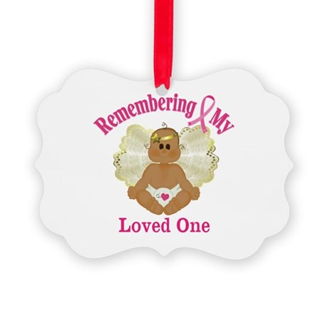 Remembrance Angel Picture Ornament