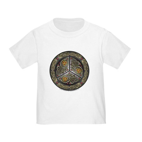 Bejeweled Celtic Shield Toddler T-Shirt