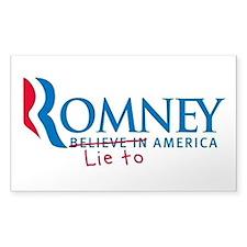 Anti-Romney Decal
