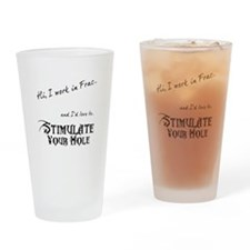 Frac Stimulation Drinking Glass