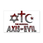 Original Axis of Evil 20x12 Wall Decal