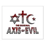 Original Axis of Evil Small Poster