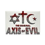 Original Axis of Evil Rectangle Magnet