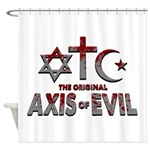 Original Axis of Evil Shower Curtain