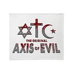 Original Axis of Evil Throw Blanket