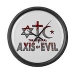 Original Axis of Evil Large Wall Clock