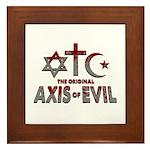 Original Axis of Evil Framed Tile
