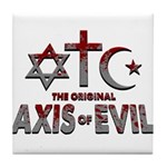 Original Axis of Evil Tile Coaster