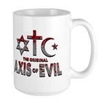 Original Axis of Evil Large Mug