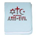 Original Axis of Evil baby blanket