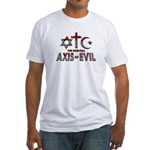 Original Axis of Evil Fitted T-Shirt