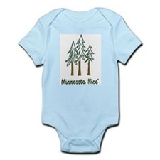 Minnesota Nice trees Infant Bodysuit