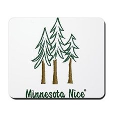 Minnesota Nice trees Mousepad