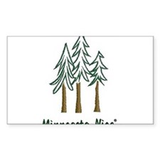 Minnesota Nice trees Decal