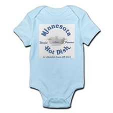 Minnesota Nice Hot Dish blue Infant Bodysuit