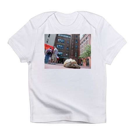 Sulcata Tortoise on the Loose Infant T-Shirt