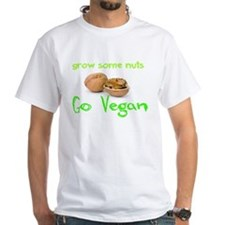 Go Vegan grow some nuts 1 T-Shirt