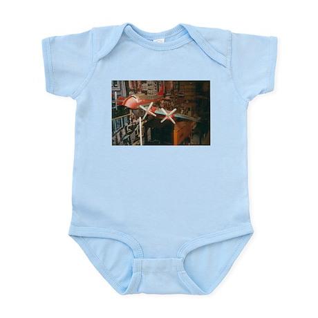Star Airplanes. Infant Bodysuit
