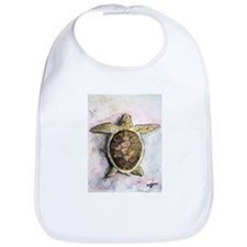 Sea Turtle Fine Art Gift Bib