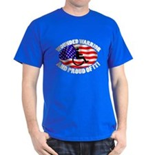 Proud Wounded Warrior T-Shirt