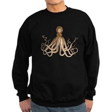 Brown Octopus Sweatshirt