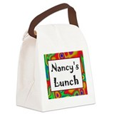 Nancy's Canvas Lunch Bag