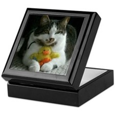 Cute Cat designs Keepsake Box