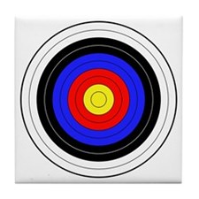archery Tile Coaster