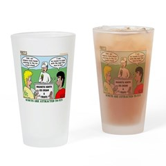 Orienteering Drinking Glass