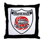 OPERATION REPULSE Throw Pillow