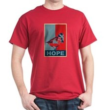 Hope: Spoon-billed Sandpiper Birding T-Shirt T-Shirt
