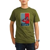 Hope: Spoon-billed Sandpiper Birding T-Shirt Organ