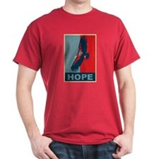 Hope: California Condor Birding T-Shirt T-Shirt