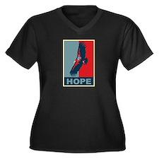 Hope: California Condor Birding T-Shirt Women's Pl