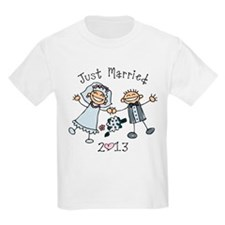 Stick Just Married 2013 T-Shirt