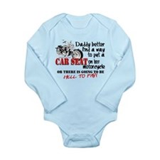 Baby Biker Attitude Long Sleeve Infant Bodysuit