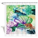 Where the Mermaid Sleeps Shower Curtain