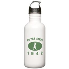 1942 Golfer's Birthday Water Bottle
