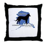 Rescue Logo Throw Pillow