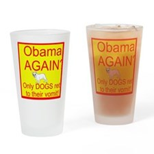 Obama Again? Drinking Glass