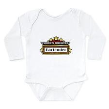 World's Greatest Bartender Long Sleeve Infant Body