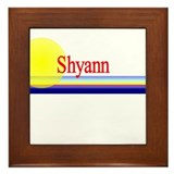 Shyann Framed Tile