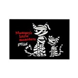 Mommy's Little Monsters Rectangle Magnet