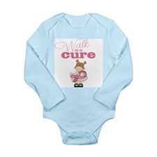 Kids Walk for the Cure Long Sleeve Baby Bodysuit