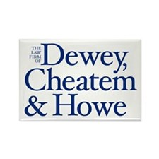 Dewey, Cheatem and Howe - Rectangle Magnet (10 pac
