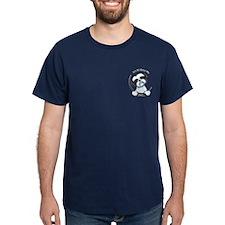 B/W Shih Tzu Pkt IAAM T-Shirt