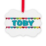Toby Picture Ornament