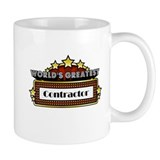 World's Greatest Contractor Mug