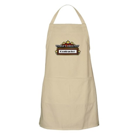 World's Greatest Contractor Apron