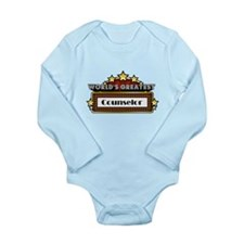 World's Greatest Counselor Long Sleeve Infant Body